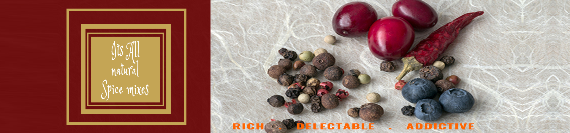 All Natural Spice Mixes